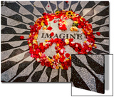 """Imagine"" Memorial Central Park Prints by Henri Silberman"
