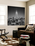 Empire State Building, New York City Wall Mural by Henri Silberman