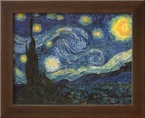Starry Night, c.1889 Art by Vincent van Gogh