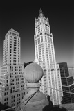 Woolworth Building - Aerial View From Park Row Wall Decal by Henri Silberman