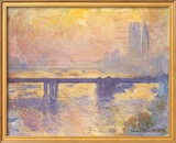 Charing Cross Bridge, c.1905 Print by Claude Monet