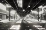 Under Roosevelt Avenue, Queens Nyc Autocollant par Henri Silberman