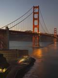 Golden Gate Bridge North View 5 Muursticker van Henri Silberman
