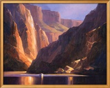 Canyon Deep Poster by Charles H. Pabst