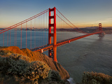 Golden Gate Bridge Afternoon Arte por Henri Silberman