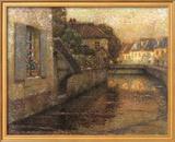 Le Pont A Gisors Prints by Henri Le Sidaner