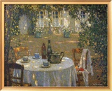 Table in the Sun Prints by Henri Le Sidaner