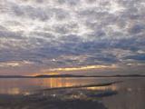 Sunset Clouds from Alameda Veggoverføringsbilde av Henri Silberman