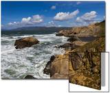 Henri Silberman - Sutro Baths, San Francisco, CA 2 (Surf and Rocks) Umění