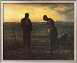 The Evening Prayer (L'Angélus), c.1859 Prints by Jean-François Millet