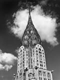 Chrysler Building Cloud Wall Decal by Henri Silberman
