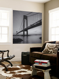 Verrazano Bridge, New York City at Night Wall Mural by Henri Silberman