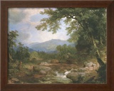 Monument Mountrains Prints by Asher Brown Durand