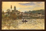 The Seine at Vetheuil Posters by Claude Monet