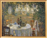 La Table Au Soleil Art by Henri Le Sidaner