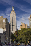 Empire State Building, New York (View from 23rd Street and Broadway, Afternoon) Wall Decal by Henri Silberman