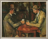 The Card Players Prints by Paul Cézanne