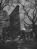 Flatiron Building, New York City Wall Decal by Henri Silberman