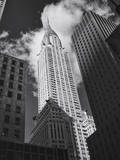 Chrysler Building, New York City from Third Avenue Wall Decal by Henri Silberman