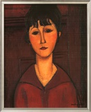 Portrait of Young Woman, c.1916 Prints by Amedeo Modigliani