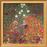 Farmer's Garden Prints by Gustav Klimt