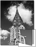 Chrysler Building Cloud Art by Henri Silberman