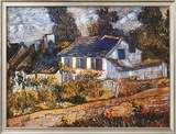 House at Auvers Poster by Vincent van Gogh