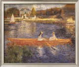 Banks of the Seine Posters by Pierre-Auguste Renoir