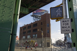 Under the Gowanus Expressway, Brooklyn, Ny (Urban Street with Memorial and Signs) Wall Decal by Henri Silberman