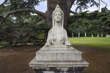 Sphinx Statue at Chiswick House (English Garden Scene) Wall Decal by Henri Silberman