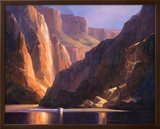 Canyon Deep Print by Charles H. Pabst
