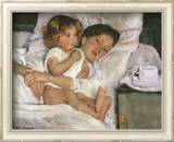 Mother and Child Art by Mary Cassatt