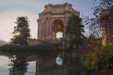 Palace of Fine Arts San Francisco Building and Reflecting Pool Wall Decal by Henri Silberman