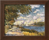 The Seine At Argenteuil Prints by Claude Monet