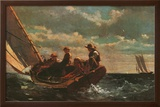 Breezing Up Posters by Winslow Homer