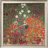 Farmer's Garden Posters by Gustav Klimt