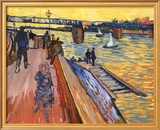The Bridge Of Tranquetalle Prints by Vincent van Gogh