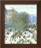 Boulevard Des Capucines Posters by Claude Monet