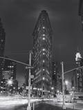 Flatiron Building, New York City at Night 2 Wall Decal by Henri Silberman