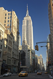 Empire State Building, New York (View Up Fifth Avenue) Wall Decal by Henri Silberman