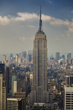 View of Empire State Building, Looking South (New York City Midtown Manhattan Iconic) Wall Decal by Henri Silberman