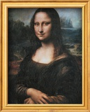 Mona Lisa (La Gioconda), c.1507 Art by  Leonardo da Vinci