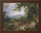 Monument Mountain Poster by Asher Brown Durand