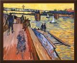 The Bridge Of Tranquetalle Prints by Vincent van Gogh
