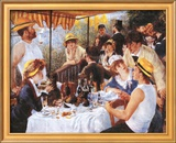 Luncheon At The Boating Party Art by Pierre-Auguste Renoir