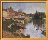 Riverbank Art by Paul Signac