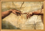 Creation of Adam, c.1510 Art by  Michelangelo Buonarroti