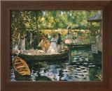 Le Grenouillere Posters by Pierre-Auguste Renoir
