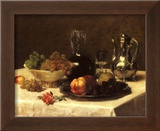 Still Life, Corner of Table Prints by Victoria Dubourg