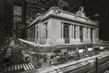 Grand Central Station, NY at Night 2 - New York City Landmark Midtown Manhattan Wall Decal by Henri Silberman